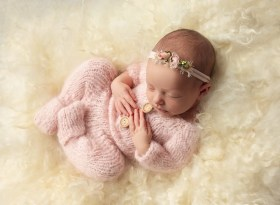 newborn baby girl photo