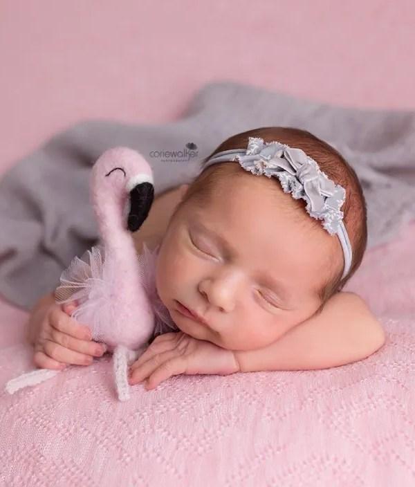Akron Newborn Photo Session | Baby Kaely