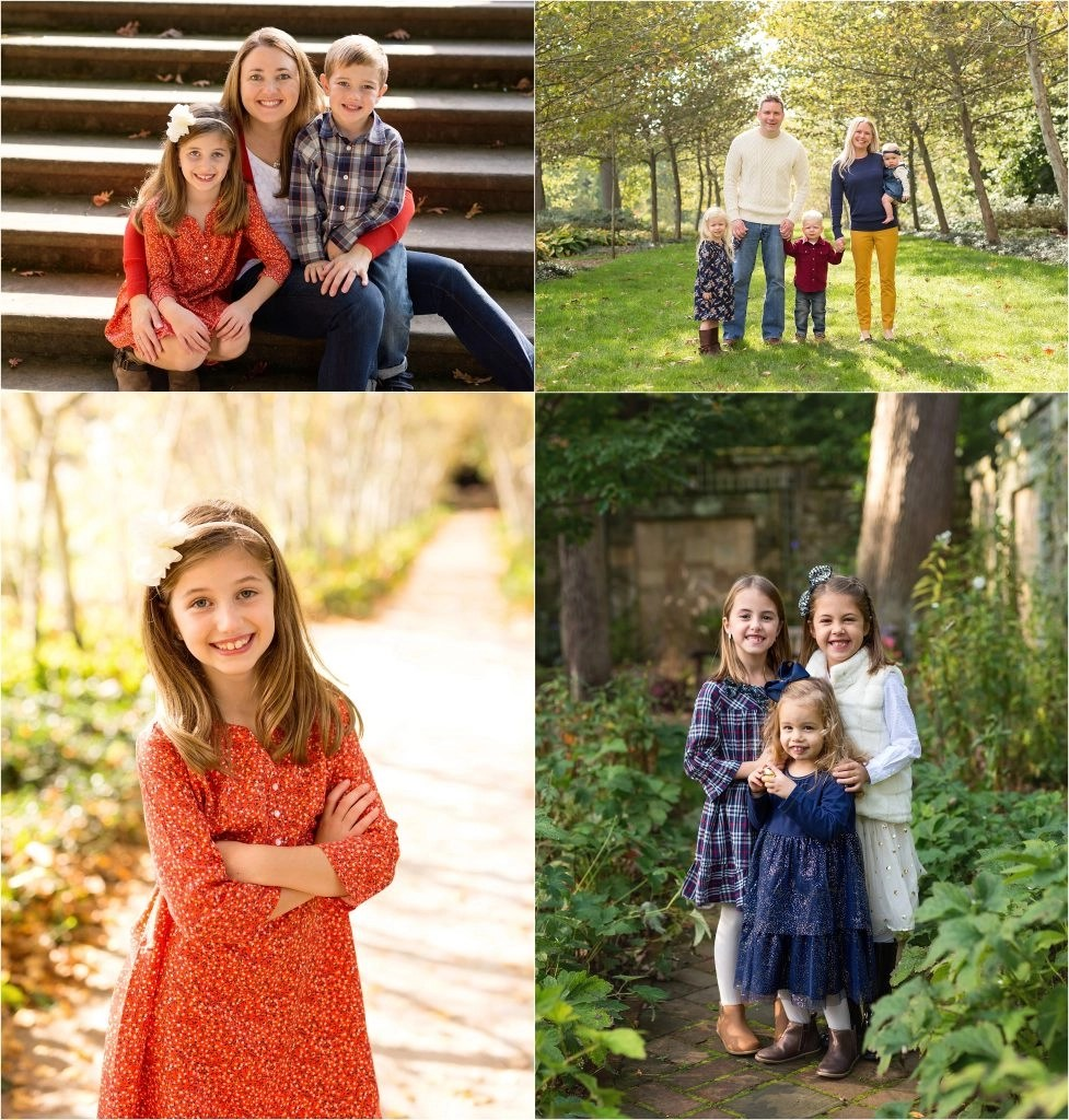 Fairy Tale Family Sessions at Stan Hywet