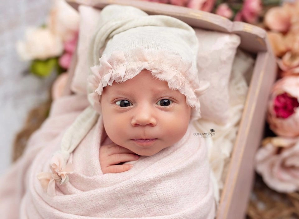 awake newborn