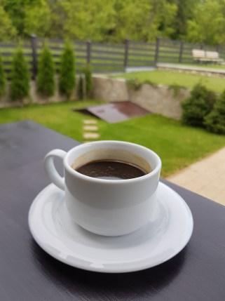 Cafea la Pensiunea Livada Bunicului