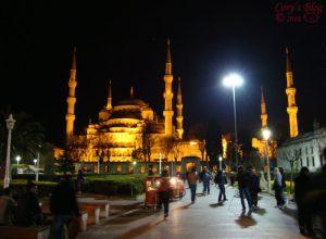 Vizită la Moscheea Albastră