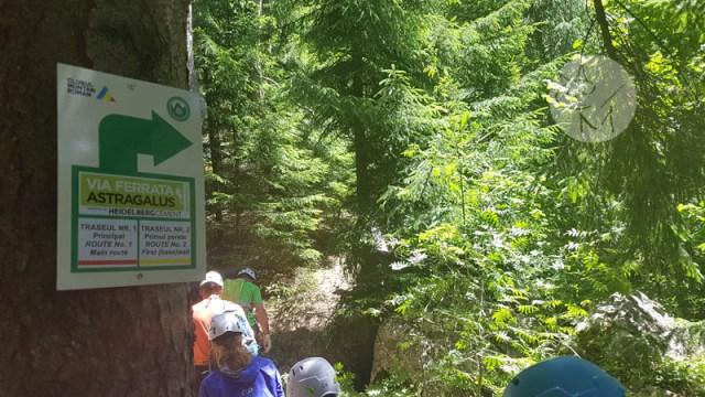 S-a deschis cel mai lung traseu turistic de escaladă din țară: Via Ferrata Astragalus