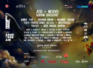 Începe prima ediție Arad Open Air Festival