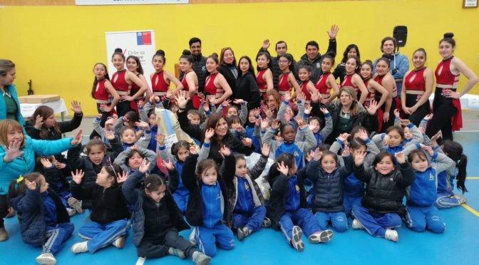 Liceo de Niñas recibe recursos del IND para programa «Crecer en movimiento»