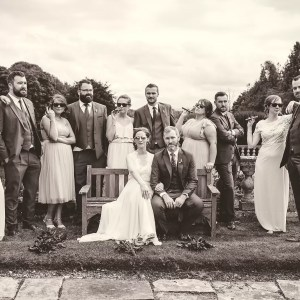 Boutique wedding at Gloster House Birr
