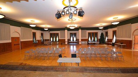 Work On The Hvac System In The Jones Nutter Auditorium Corinna Preservation Org