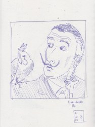 Dali drawing #2 feb21