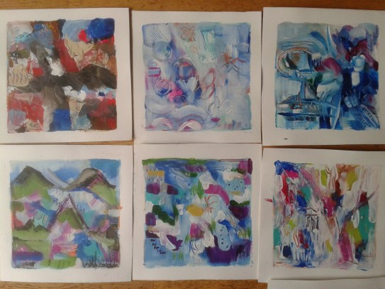 Paintings 1,2,3,4,9 and 11