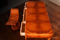 Photographie de meuble en marqueterie