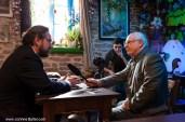 Interview Télégramme au Guilvinec à la Crêperie AR VAG