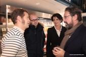 Discussion avec le propriétaire du Café de l'Ouest à St Malo