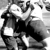 Choc au rugby
