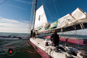 Photographe reportage nautique, skipper route du rhum 2018, Portrait de David Ducosson Skipper