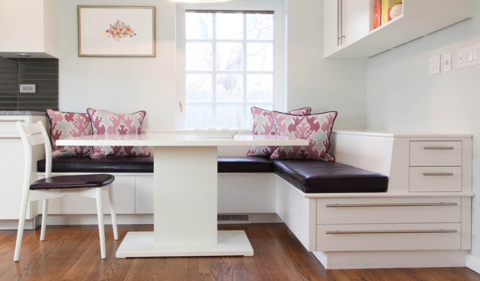 banquette bench kitchen base cabinets designers dining joy studio design gallery