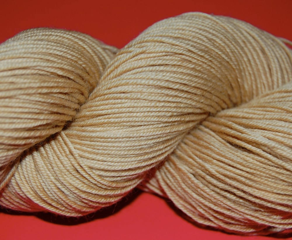 Coffee and Tea Dyed Yarn (5/6)