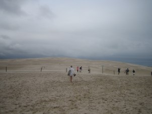 Słowiński National Park with moving sand dunes