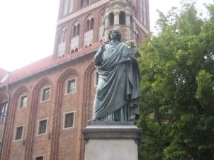 Copernicus statue in Torun