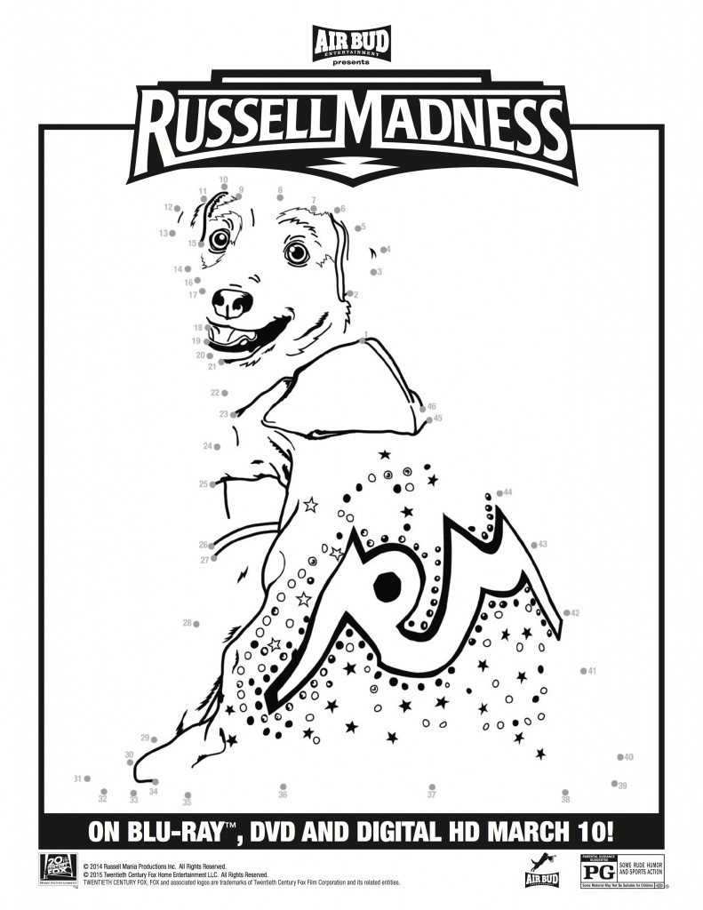 Russell Madness DVD Giveaway and FREE Printable Activities