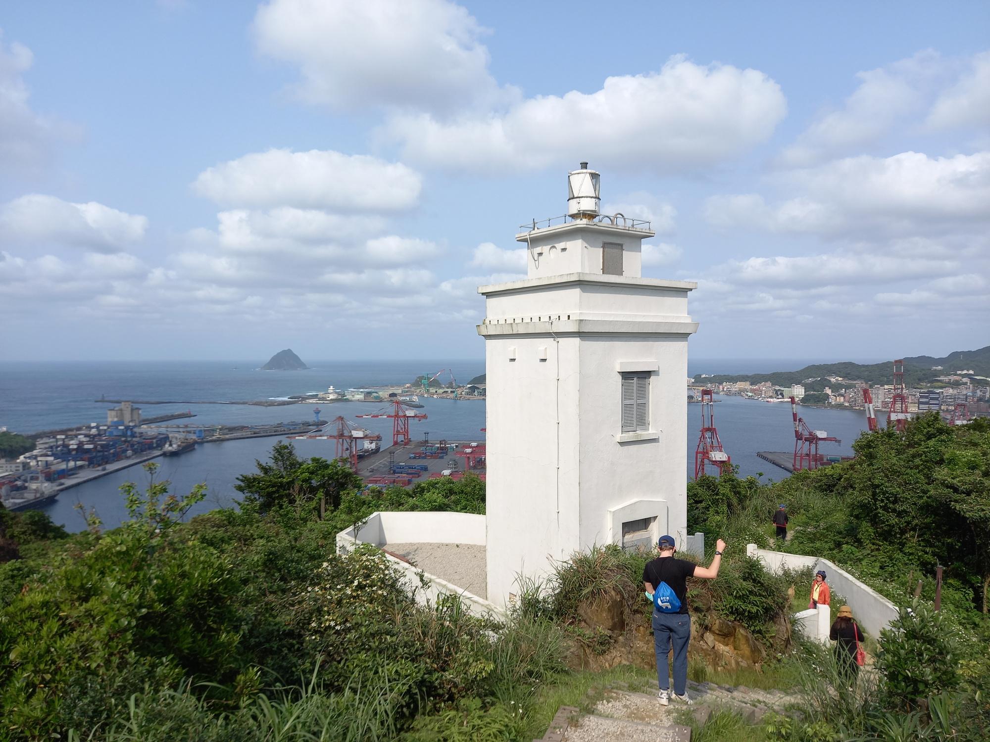 Keelung Day Trip Qiuzishan Lighthouse (球子山燈塔)