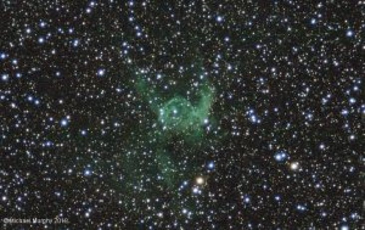 Thors Helmet Planetary Nebula by guest photographer Michael Murphy