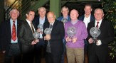 All the award winners with Ted O'Mahony, Cork AUL and Jim Cashman, Murphy's Irish Stout