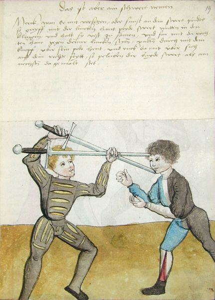 German Longsword Course 7/10 – Sun 22/11/2015