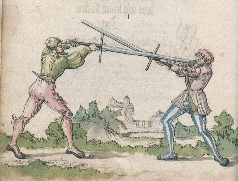 German Longsword Course 4/10 – Mon 27/03/2017