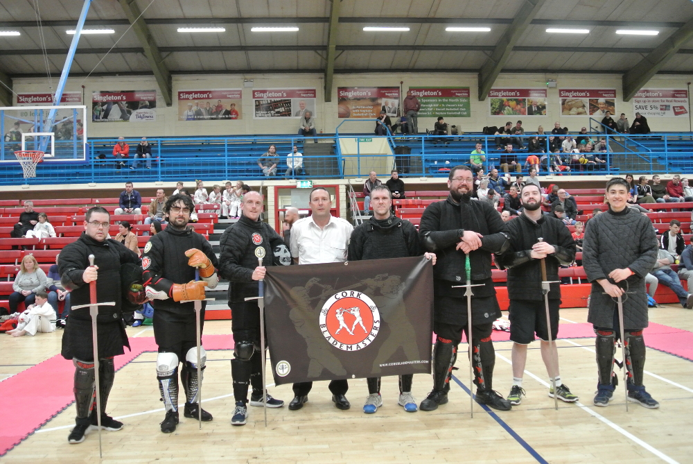 Blademasters @ Cork Martial Arts Expo 2017!