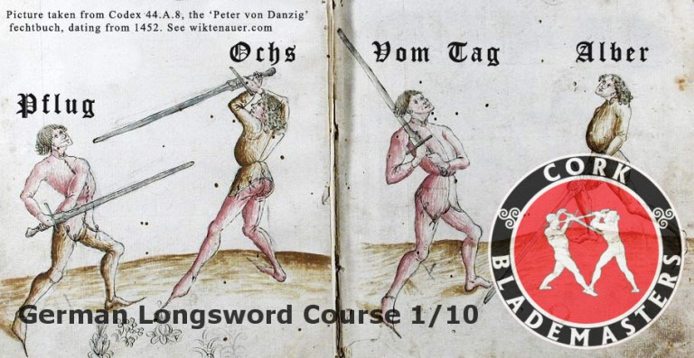 German Longsword Course 1/10 – Mon 25/09/2017