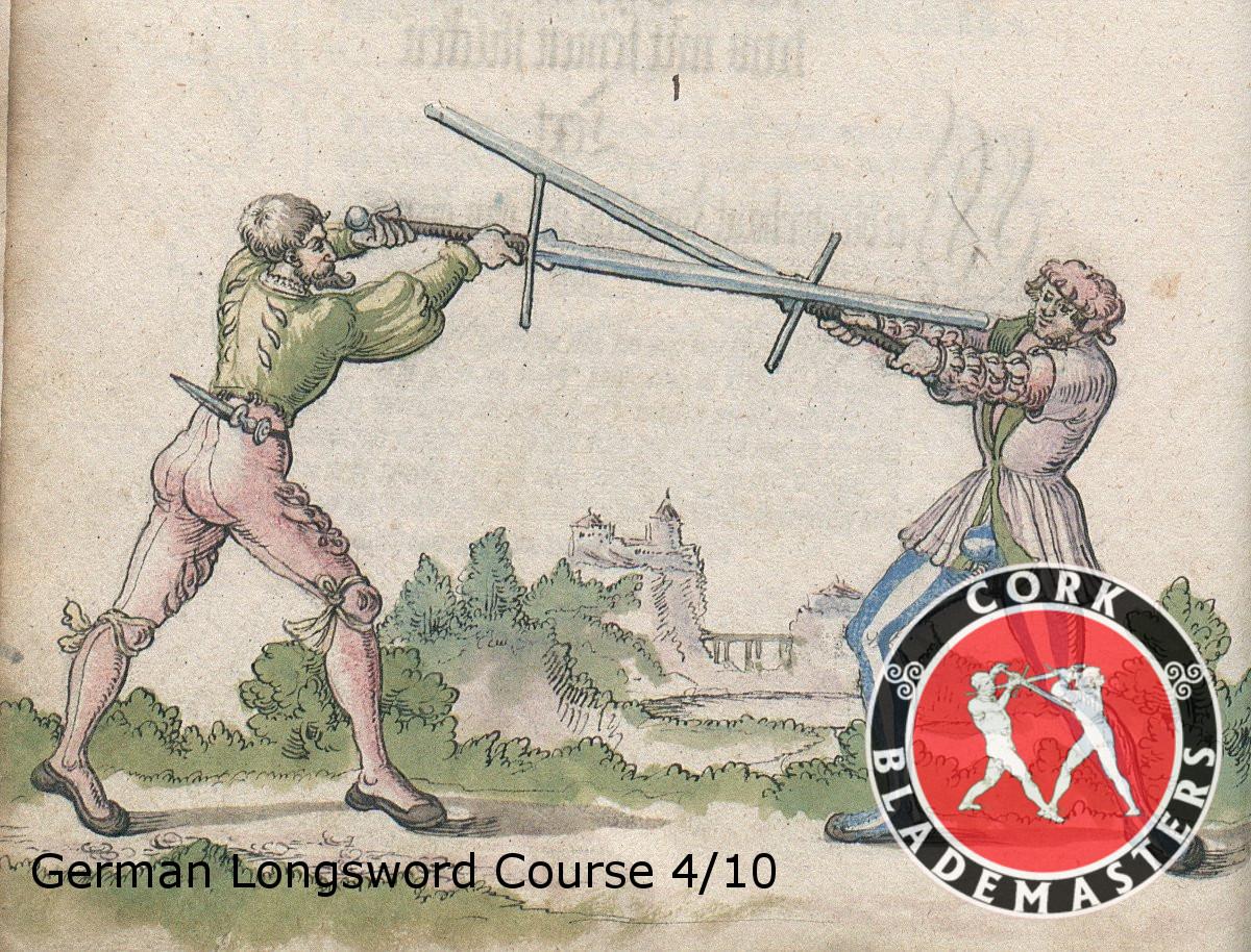 German Longsword Course 4/10 – Wed 17/07/2019