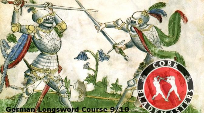 German Longsword Course 9/10 – Mon 11/12/2017