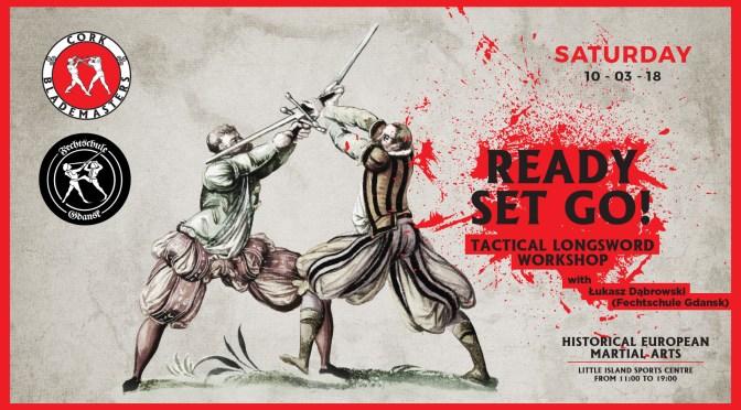 Tactical Longsword Seminar in March!