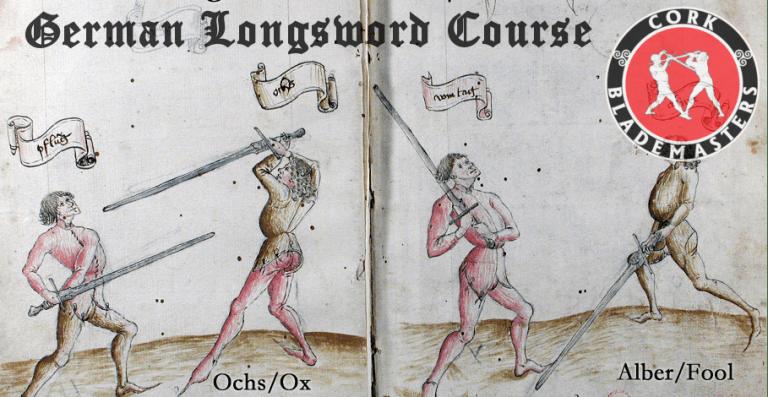 German Longsword Course 1/10 – Mon 01/10/2018