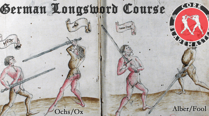 German Longsword Course 1/10 – Wed 26/06/2019