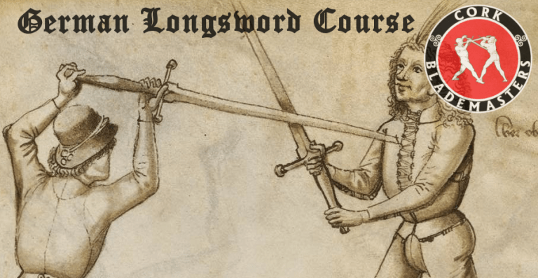 German Longsword Course 2/10 – Wed 17/04/2019