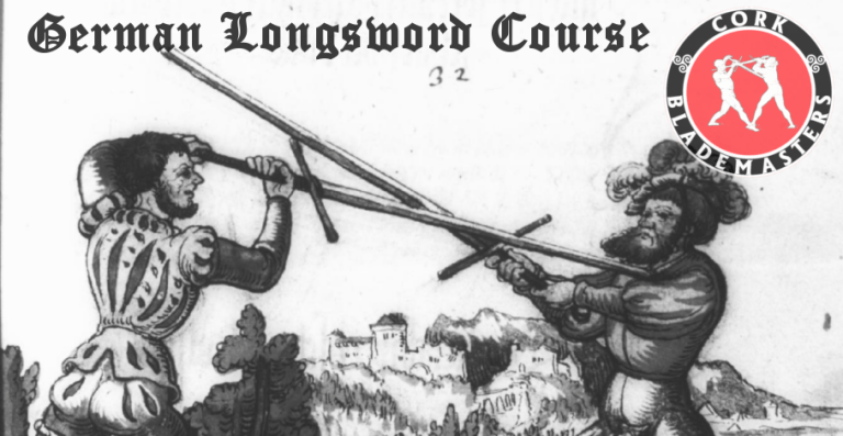 German Longsword Course 3/10 – Mon 30/07/2018