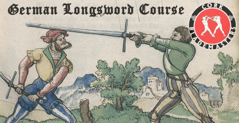 German Longsword Course 6/10 – Mon 27/08/2018
