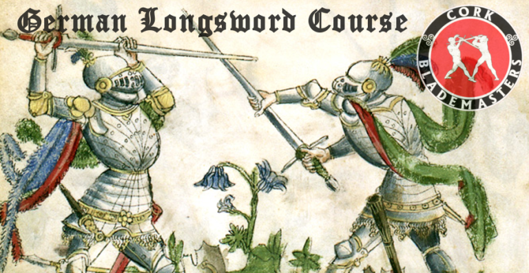 German Longsword Course 9/10 – Mon 12/03/2018
