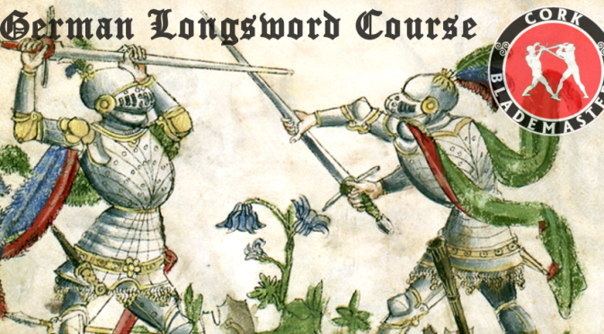 German Longsword Course 9/10 – Wed 05/06/2019