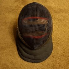 Red Dragon HEMA Tournament Fencing Mask 1600N