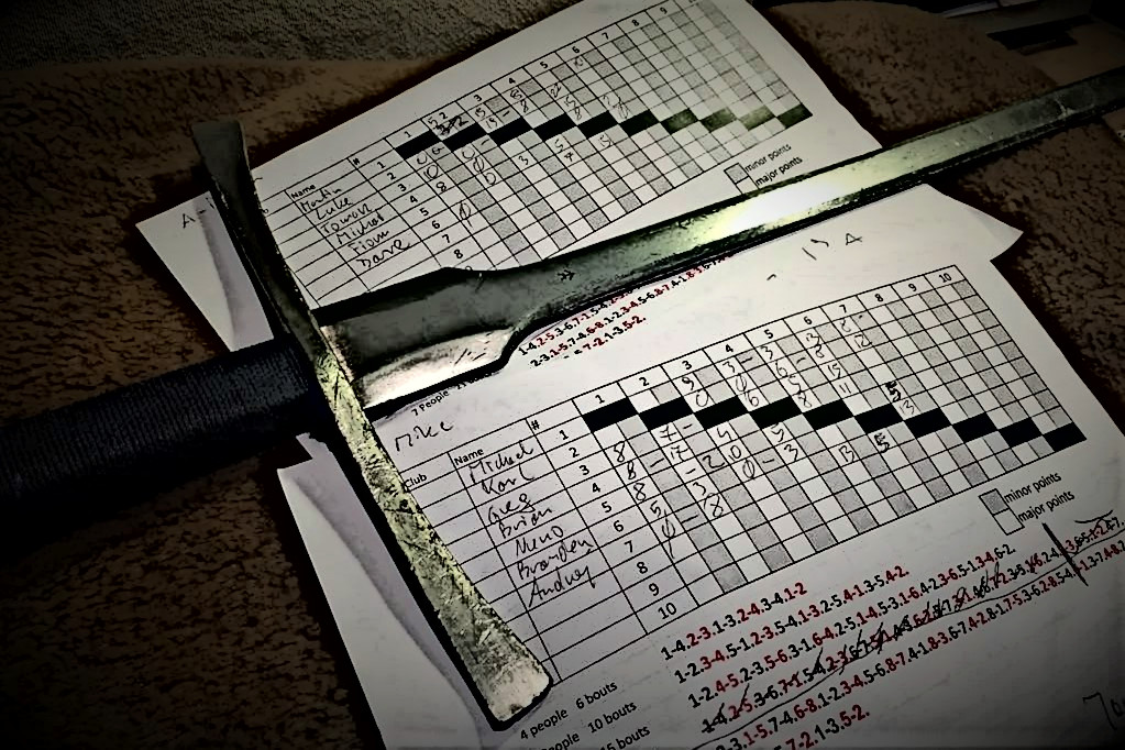 Blademasters League: Longsword Score Table – Feb 2019