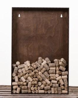Corkbox 60 x 40 cm. – Ramme til Vinpropper
