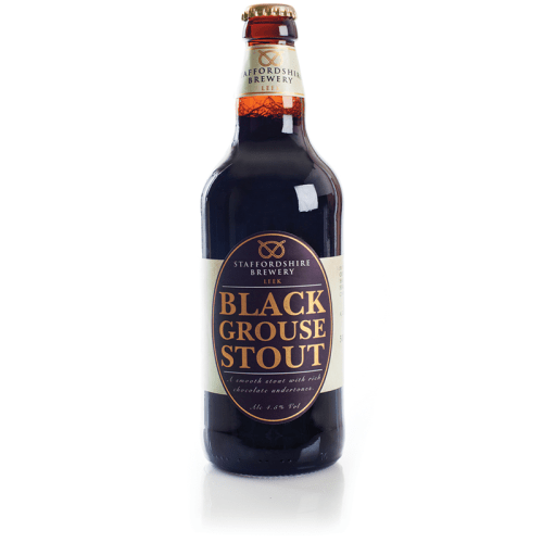 staffordshire brewery black grouse stout