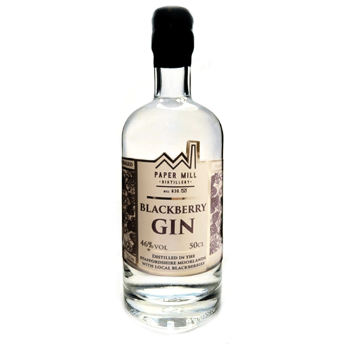 paper mill distillery blackberry gin