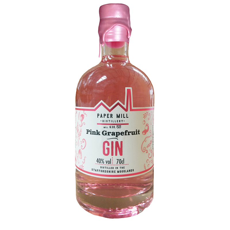 Paper Mill Pink Grapefruit gin