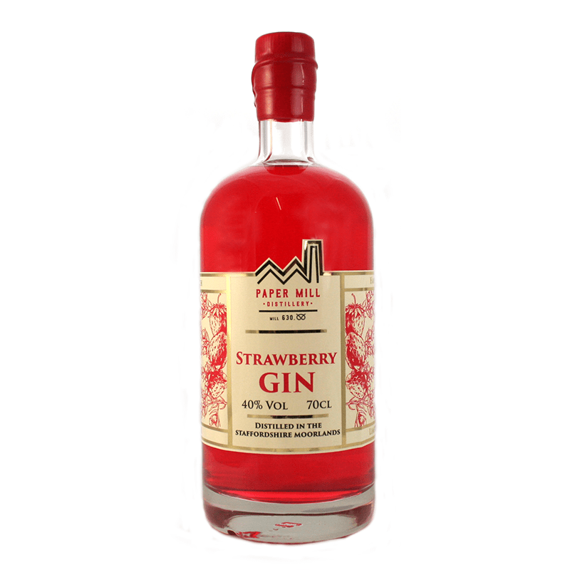 paper mill distillery strawberry gin