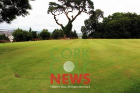 The former 9th and 18th greens in Frankfield have been joined and extended to create the innovative putting course. Picture: Niall O'Shea