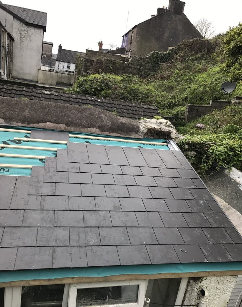 Slate Roofing re-builders