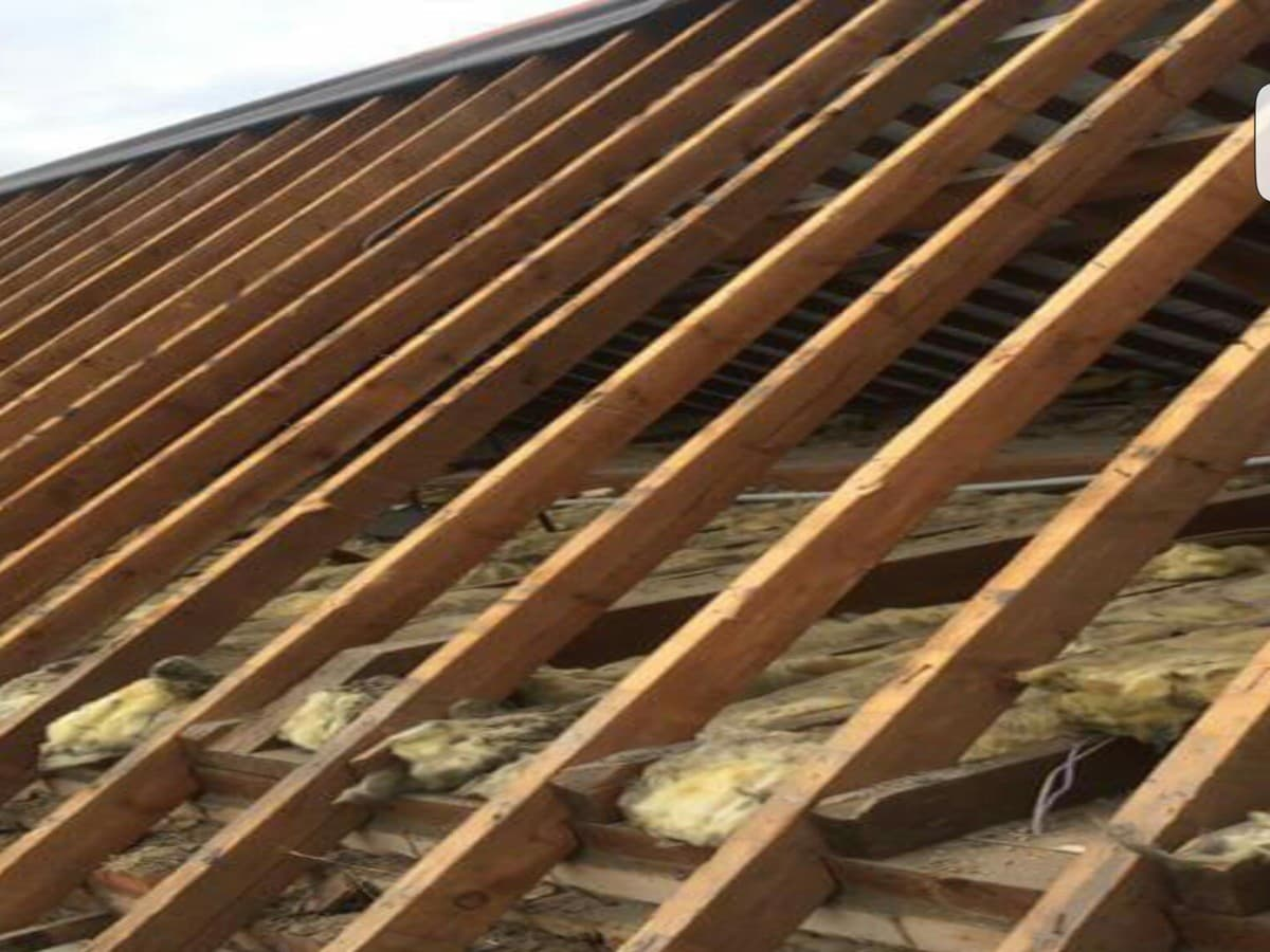 Rafters Installed in Cork